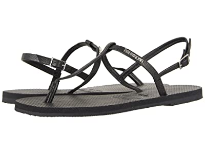 Havaianas You Riviera Sandals (Black) Women