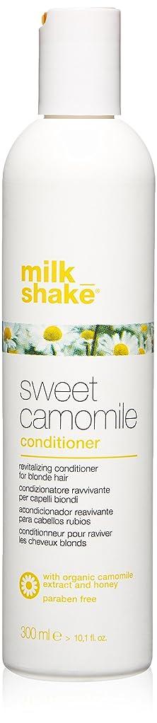 使役統計的浴室milk_shake sweet camomile shampoo for revitalizing blonde hair - 300ml by Z-One Concept