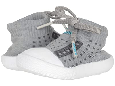 Native Kids Shoes Jefferson (Infant/Toddler) (Pigeon Grey/Shell White) Kids Shoes