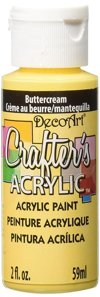 DecoArt Crafter's Acrylic Paint, 2-Ounce, Buttercream