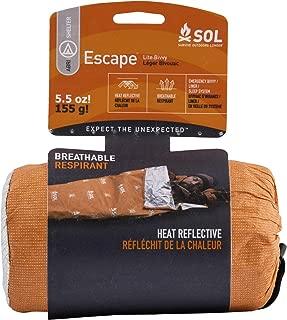 S.O.L Survive Outdoors Longer 70% Reflective Escape Lite Emergency Bivvy