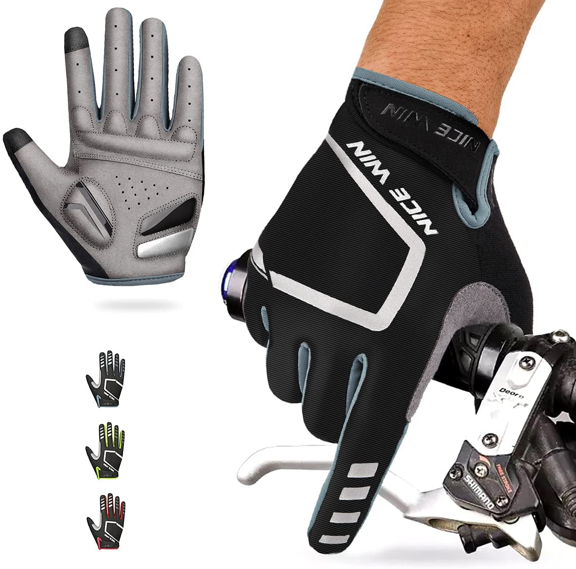 NICEWIN Virginia At the price of surprise Beach Mall Cycling Gloves Motorcycle Bike Me Road Bicycle Mountain-
