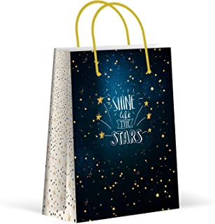 Premium Twinkle Twinkle Little Star Party Bags, Party Favor Bags, New, Treat Bags, Gift Bags, Goody Bags, Party Favors, Party Supplies, Decorations, 12 Pack
