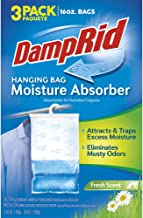 DampRid Hanging Bag, Fresh Scent 16-Ounce, 3-Pack