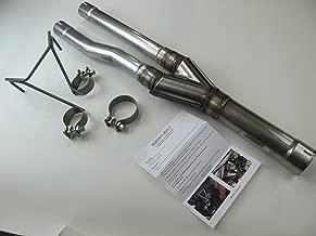 B2 Fabrication 09-18 Dodge Ram 1500 Hemi Dual Retrofit Exhaust muffler Y-pipe