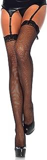 Women's Lace Top Fishnet Stockings