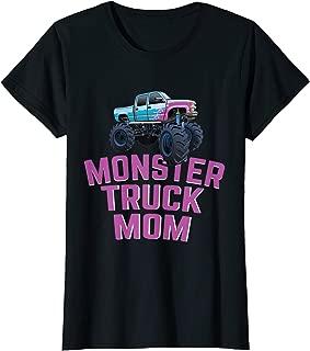 Womens Monster Truck Mom Monster Truck Jam Competition T-Shirt
