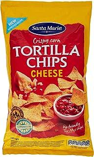Nacho Cheese Chips | Santa Maria | Tortilla De Maíz