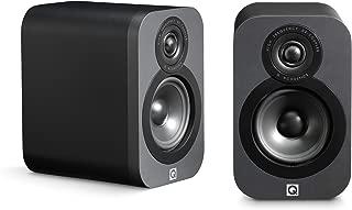 Q Acoustics 3010 Compact Bookshelf Speakers (Pair) (Graphite)