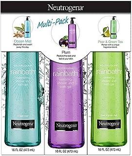 Neutrogena Rainbath Shower Gel (3 Pack/16 Fluid Ounce), 48 Fluid Ounce