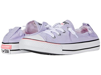 Converse Chuck Taylor All Star Color Blocked Shoreline Slip (Moonstone Violet/White/Black) Women