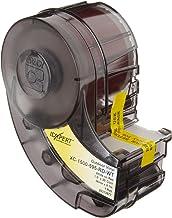"Brady XC-1500-595-RD-WT IDXPERT(TM) & LABXPERT(TM) Labels  B- 595 Indoor/Outdoor Vinyl Film White on Red, Printable Area: 19.000"" W x 1.500"" H 1 roll (30ft.)/Cartridge"