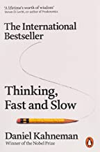 International bestseller That masterpiece is Daniel Kahneman's Thinking, Fast and slow a winner of the Nobel Prize for eco...