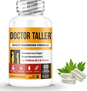 Doctor Taller - Support Healthy Growth - Premium and Breakthrough Ingredients - Help Children and Teens Grow - Healthy Gro...