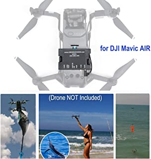 DRONE SKY HOOK Professional Release and Drop Device for DJI Mavic AIR, for Drone Fishing, Bait Release, Payload Delivery, Search & Rescue, Fun Activities