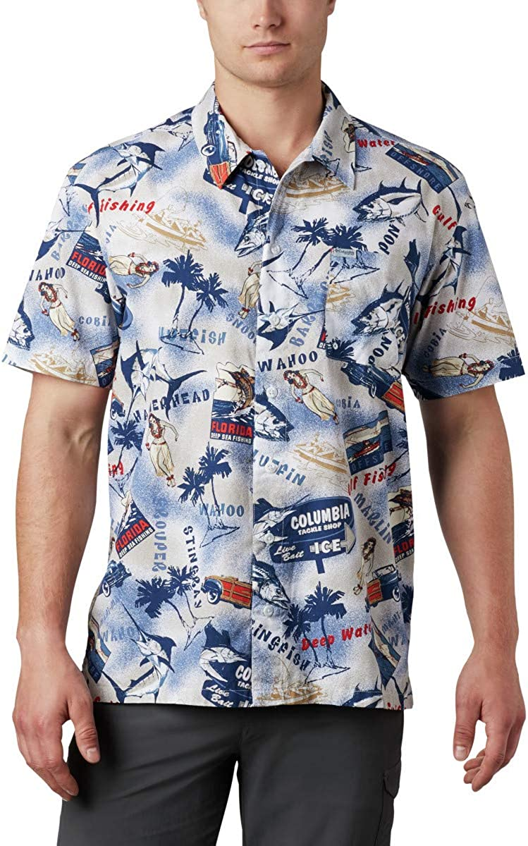 Columbia Men's Trollers Best Short Sleeve Shirt