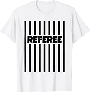 Referee Basketball Football Gear Hockey Outfit Shirt Soccer