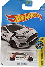 Hot Wheels 2017 HW Speed Graphics Ford Focus RS 79/365, White