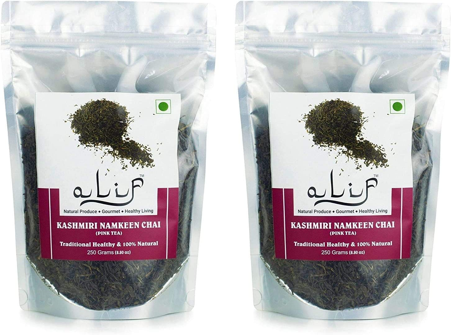 Kuber Alif Premium Kashmiri Namkeen 500g 250gx2 Chai Noon Tea New Orleans Mall Topics on TV