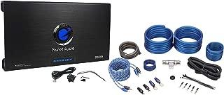 Planet Audio AC2600.2 2600 Watt 2-Channel Car Power Amplifier w/ 4 Gauge Amp Kit