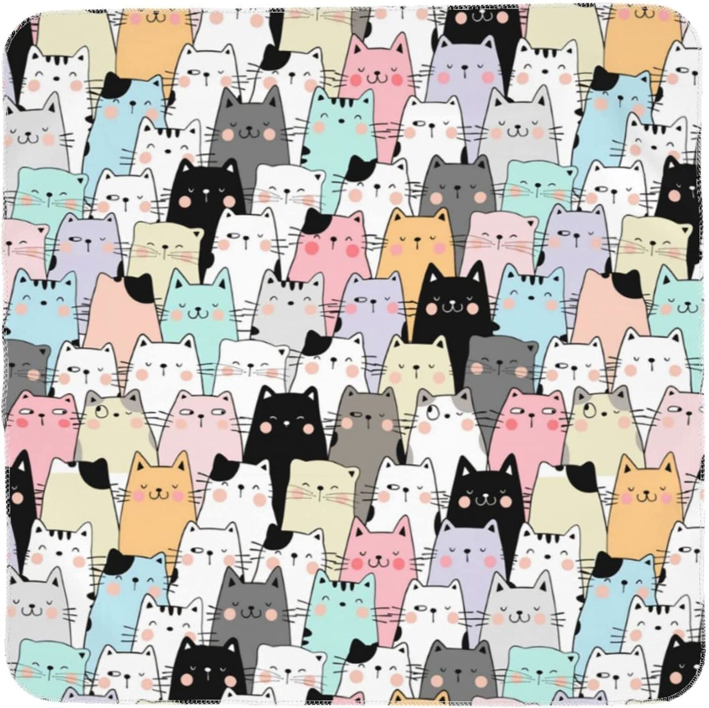 Cute Cats Baby Blanket for Cheap bargain Girls Rare Newborn Blanke and Boys Swaddle