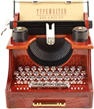 SparkLia Vintage Typewriter Music Box for Home/Office/Study Room Décor Decoration