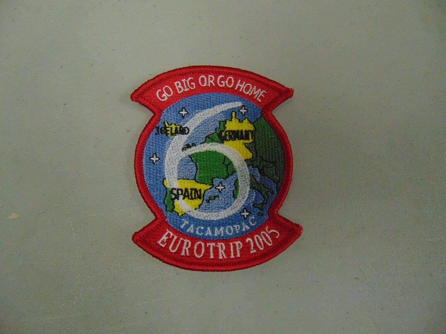 Patch Military EUROTRIP 2005 GO Free shipping Max 85% OFF on posting reviews Big OR S Iceland Germany Home