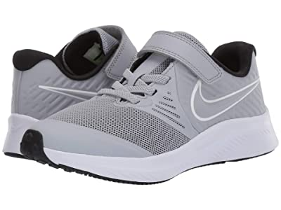 Nike Kids Star Runner 2 (Little Kid) (Cool Grey) Boys Shoes