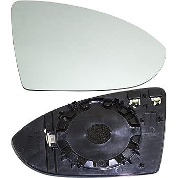 TarosTrade 57-0952-R-46338 Vetro Specchietto Retrovisore Riscaldabile Lato Destro