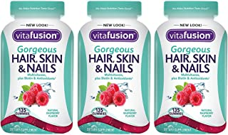 Gorgeous Hair, Skin & Nails, 135 Count (3 Bottles)