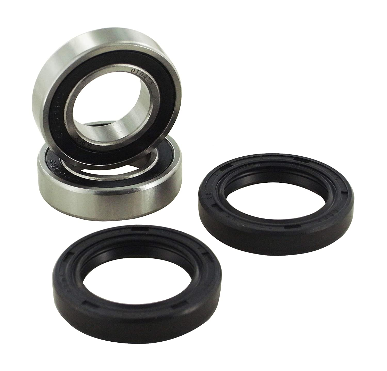 New HQ Powersports Front Wheel Replacement Shipping included Yamaha for Bearings Max 66% OFF Y
