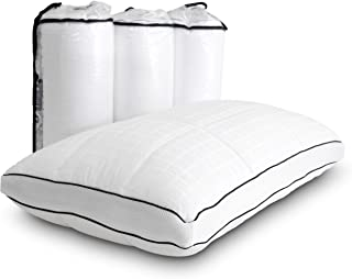 FOUR (4) Shredded Memory Foam Pillows - Bed Boss Firm