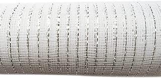 YYCRAFT 10 Yards Metallic Deco Poly Mesh Ribbon for Decoration/Wreath Making Craft (6