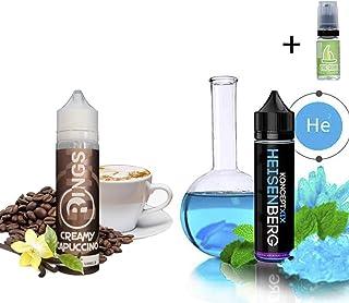 E Liquid Rings Creamy Capuccino 50ml - 70vg 30pg + E Liquid Vampire Vape Heisenberg 50ml