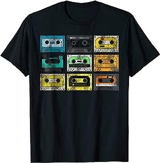 Vintage Audio Cassette Shirt 80s 90s Retro