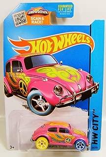 pink volkswagen hot wheel