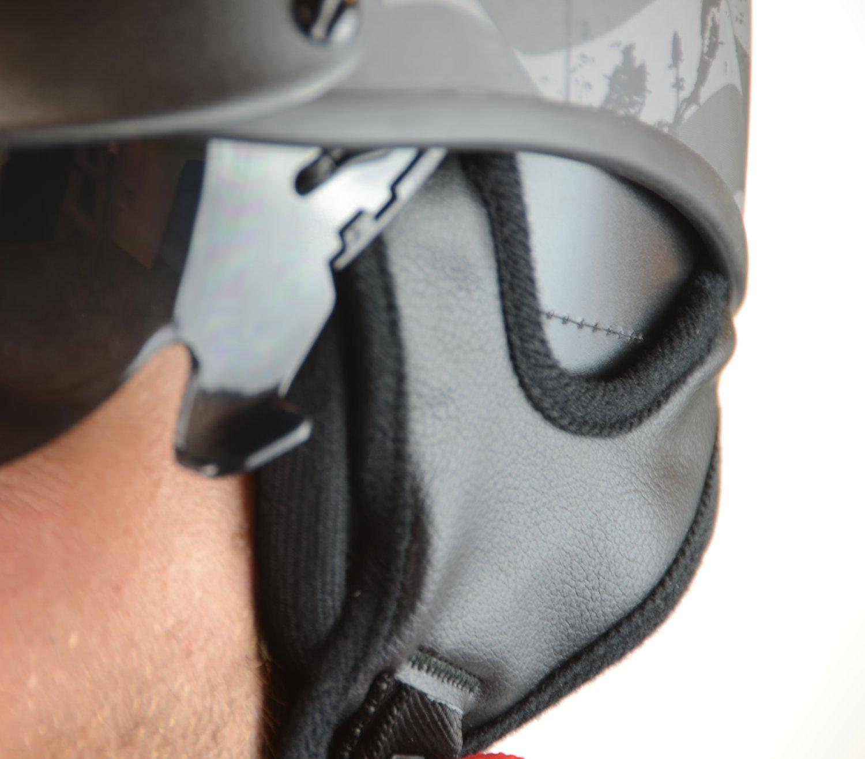 Vega Helmets Warrior Motorcycle Half Helmet with Sunshield for Men & Women One Size 93-2704