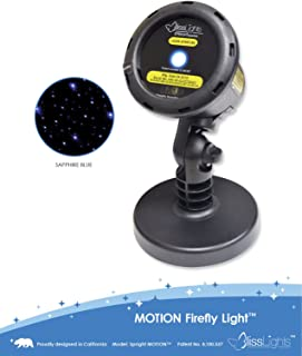 BlissLights Motion Blue FireFly Laser Projector.