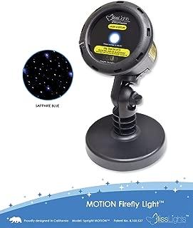 BlissLights Motion Blue FireFly Laser Projector.