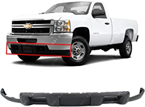 GM1051110 Make Auto Parts Manufacturing Front Upper Bumper Cover Facial Textured Black For Chevrolet Avalance 1500 2500 2002-2006 /& Chevy Silverado 1500 2003-2006