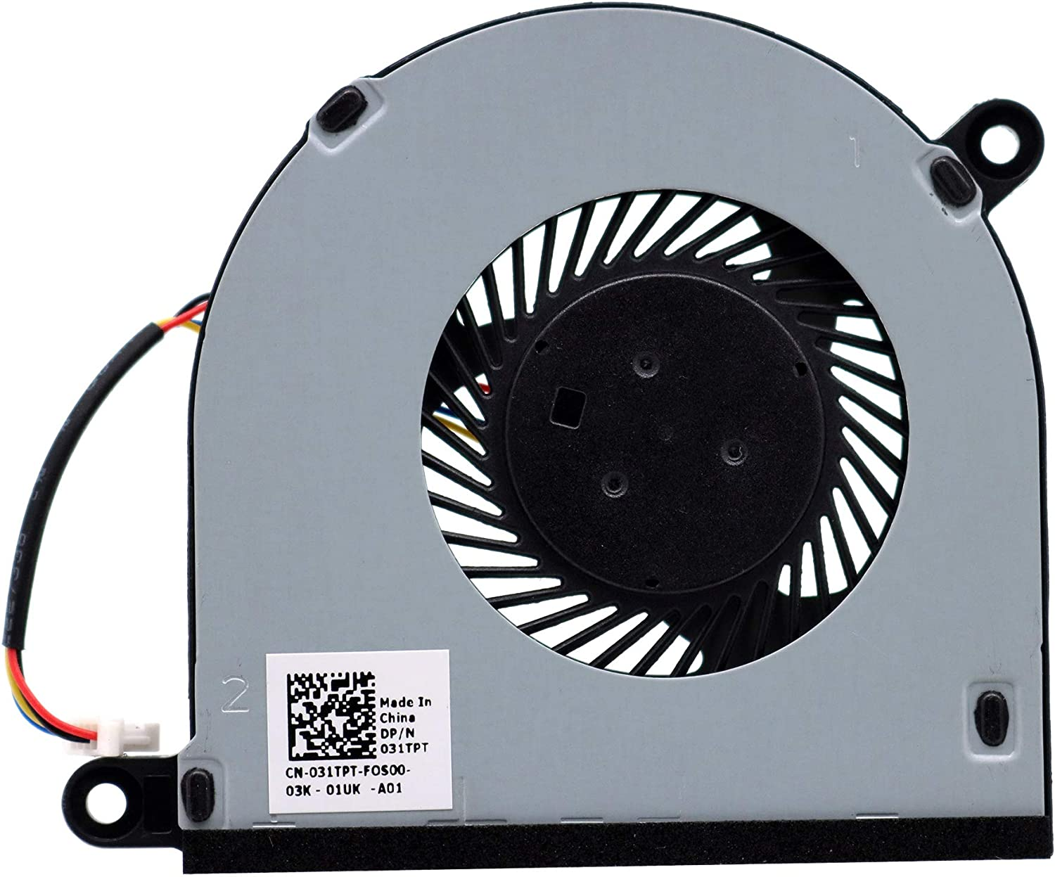 Deal4GO CPU Cooling Fan Cooler Replacement for Dell Inspiron 13 5368 5378 5379 7368 7378 7379 Inspiron 15 5568 7569 7579 031TPT 31TPT