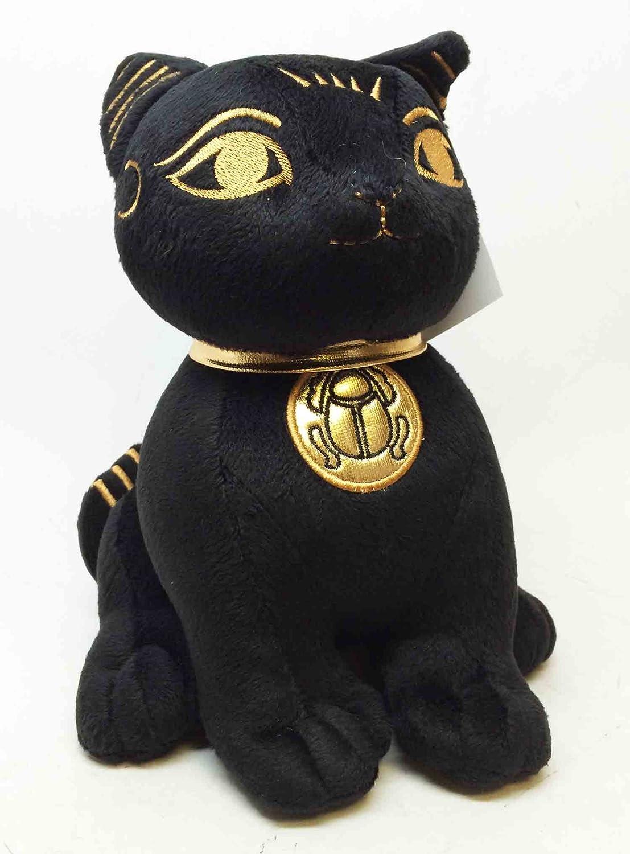 increíbles descuentos EGYPTIAN súper CUTE PLUSH DOLL BASTET CAT UBASTI negro AND AND AND oro by ATL  Precio al por mayor y calidad confiable.