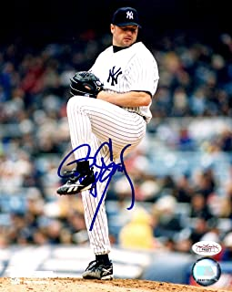 Roger Clemens Autographed New York Yankees 8x10 Photo, JSA Authenticated, F45977, World Series Champion, Houston Astros, Boston Red Sox