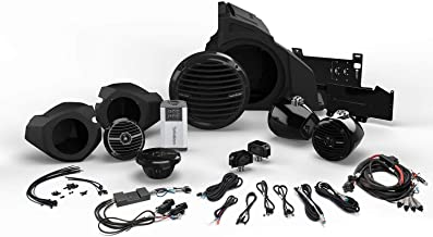Rockford Fosgate RZR14RC-STAGE4 for Ride Command Interface, 400 Watt Stereo, Front and Rear Speaker, and Subwoofer Kit for Select Polaris RZR Models (2014 – 2019)