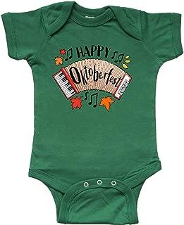 inktastic Happy Oktoberfest- Accordian Infant Creeper