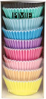 PME Pastel Colours Foil-Lined Baking/Cupcake Cases, Set of 8, Pack of 100