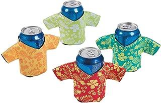 hawaiian shirt beer koozies
