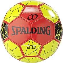كرة القدم للأطفال من الجنسين من سبالدينغ - أحمر/أصفر، مقاس 5