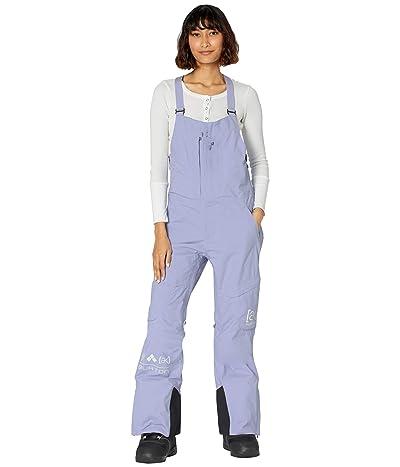 Burton [ak](r) GORE-TEX(r) Kimmy 2-Layer Bib Pants (Foxglove Violet) Women