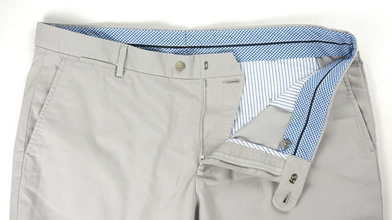 Psycho Bunny New Mens Stone Gray Cotton Brice Casual Chino Pants Size 38X34